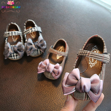 POSH DREAM Girl Baby Leisure Shoes Spring and Autumn Bow-knot Princess