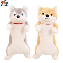 Plush Shiba Inu Husky Dog Toy Stuffed Dogs Puppy Doll Toys Kawaii Animal Pillow Cushion Birthday Gift Home Shop Decor Triver стоимость