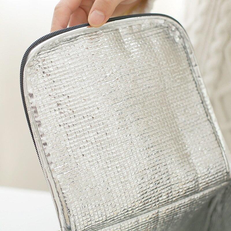 almoço bolsa térmico isolamento térmico Item 6 : Fit Fresh Refrigerator Lunch Cooler Bags