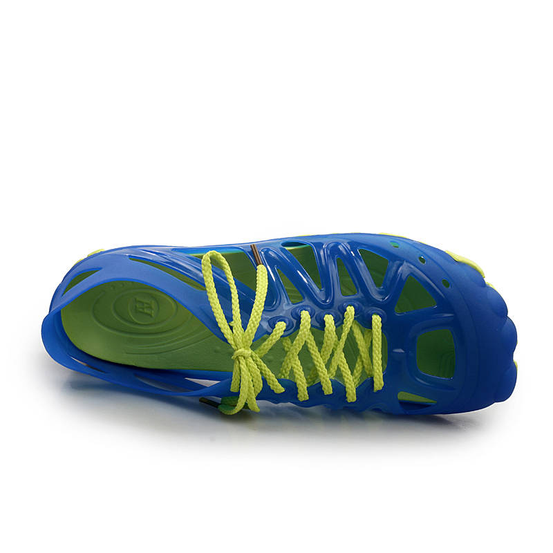 Blue Chanclas Encaje Zapatos Sandalias Moda Agua Transpirable Playa Lan Planos bao dark Hombres Casa Verano Casual Nueva 2017 Zapatillas Black vqgxw6pT6