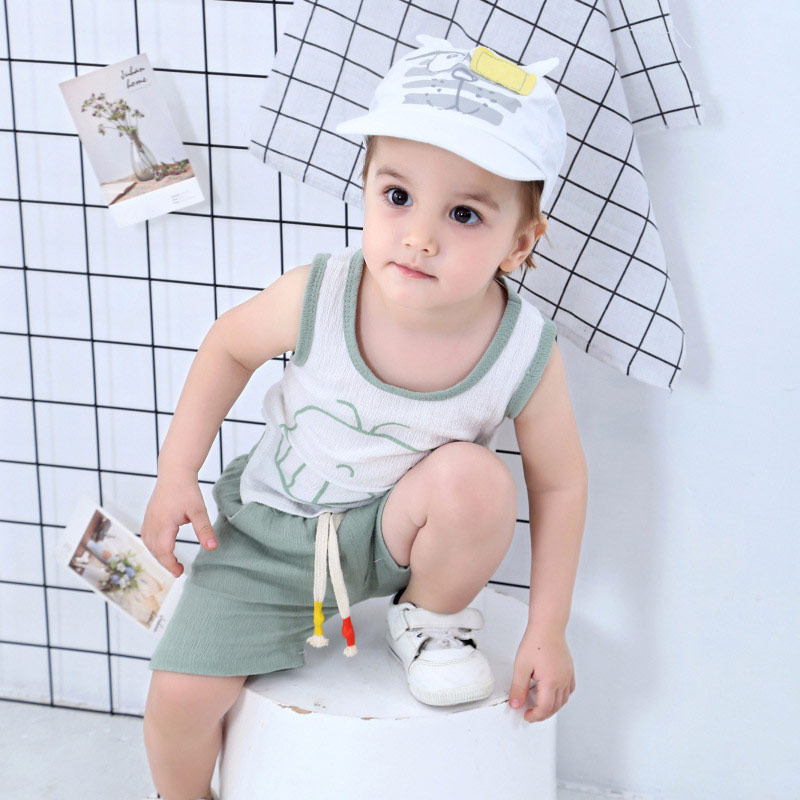 White Baby Baseball Hat Blindfolded Tiger Toddler Kids Boys Girls Sun Protection Cap with Wide Brim Duck Caps Elastic Band Adjustable Size (6)
