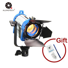 Alumotech As Arri 150W Fresnel Tungsten Light+Bulb+Barndoor For Photography Studio Video Camera Lamp Free Shipping(China)