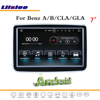 Liislee Car Android Multimedia For Benz A B CLA GLA Without AUX Stereo Radio BT WIFI