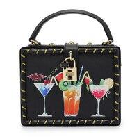 Female Designer Brand Women Sigle Shoulder High Grade PU Leather Pattern Bags Vintage Tote Handbags C1352