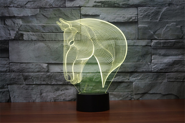 3DHorse Nightlight Desk Lamp