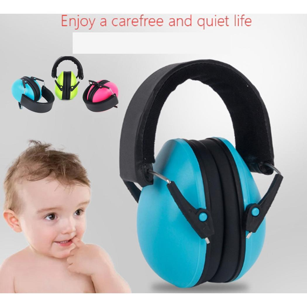 Children Hearing Protection Headphone Noise Canceling Professional Earmuffs 25dB Green, Blue, Red Kids