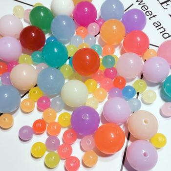 500g plastikowe koraliki zielone akrylowe galaretki kolor koraliki dzieci instrukcja koraliki do biżuterii DIY akcesoria dziewczyna nosi koraliki materiał paczka tanie i dobre opinie TOY060 Chiny certyfikat (3C) Biały papier Do not swallow 2 ~ 4 Lat 8 ~ 13 Lat 5 ~ 7 Lat 14 Lat i up Sport crazy spin
