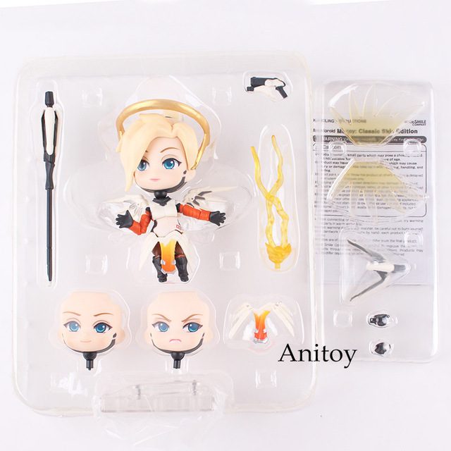 Nendoroid 790 Mercy Classic Skin Edition PVC Mercy Figure Action Figure Collectible 1