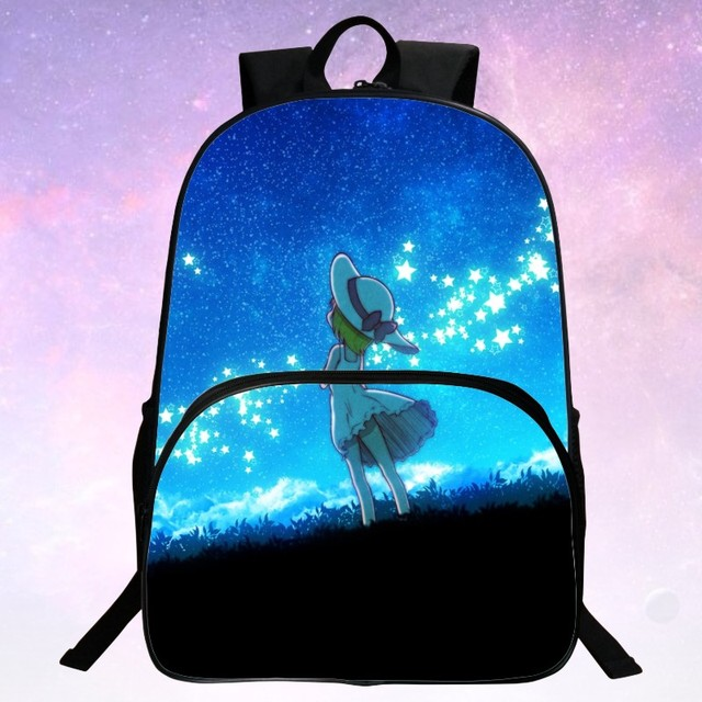 Beauty  2016 Fashion Polyester 100% Printing Starry Sky  Kid Schoolbag Black Boys School School Bags For Teenagers  Gift Bags