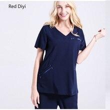 Medical scrub Washing clothes women's split suit surgical gowns fashion isolation suit nurses doctors medical uniform man