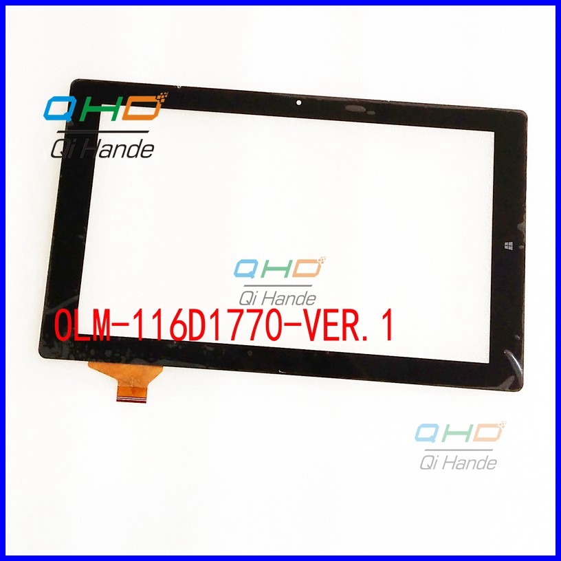 Hot Sale 11.6'' inch New For OLM-116D1770-VER.1 Capacitive Touch Screen Touch Panel Digitizer Panel Replacement Sensor 10pcs lot hot sale 9 inch new for fpc fc90s072 00 fhx capacitive touch screen touch panel digitizer panel replacement sensor