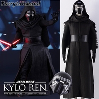 2017 star wars 7 The Force Awakens cosplay costume adult Kylo Ren cosplay kylo ren costume mask Halloween costumes for men