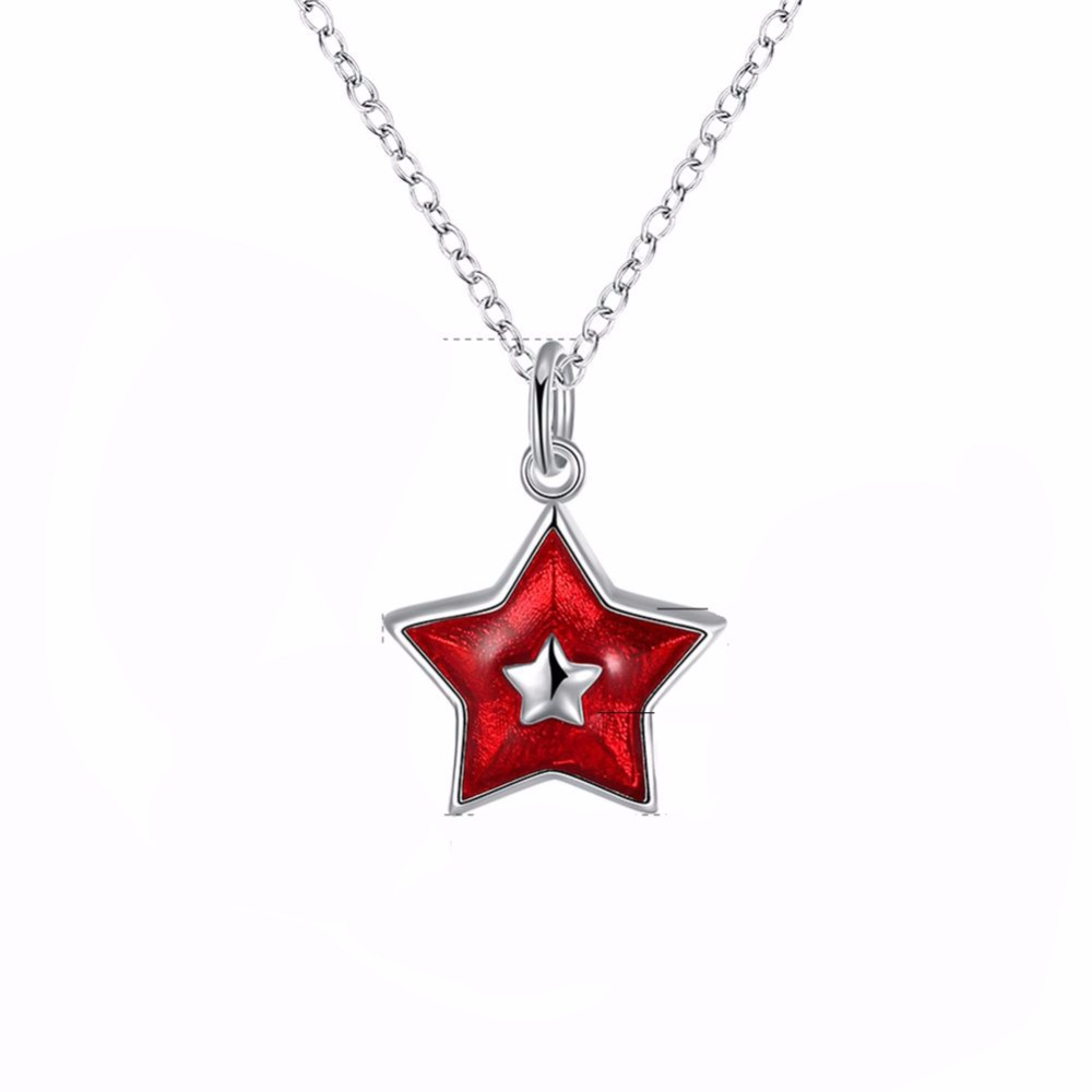 ZTUNG LVB35 sky pattern 25mm pendant send with bag 925 silver chain 45cm length women jewelry necklace hot sell productZTUNG LVB35 sky pattern 25mm pendant send with bag 925 silver chain 45cm length women jewelry necklace hot sell product