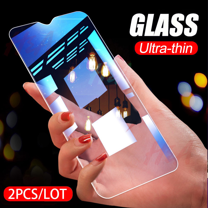 H&A 2PCS Full Tempered Glass For Samsung Galaxy A50 A30 A10 A20 A40 A70 A90 Screen Protector M10 M20 M30 Protective Glass
