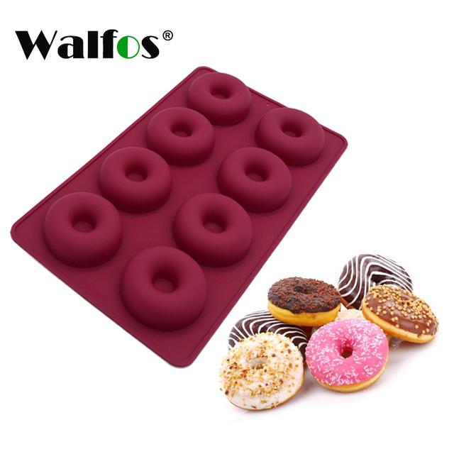 Silicone Doughnut Chocolate Mold