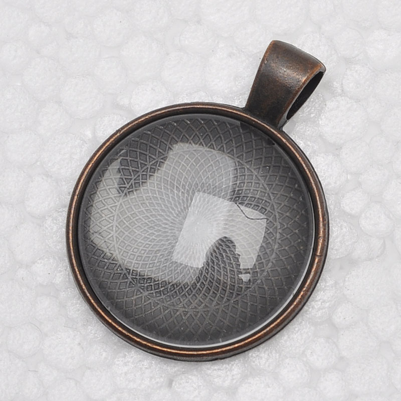 1 inch pendant trays glass cabochon set blank pendant bases 1 inch pendant trays glass cabochon set blank pendant bases 25mm bezel pendant settings for glass or stickers in pendants from jewelry accessories on mozeypictures Image collections