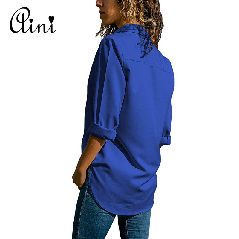 Plus Size 5XL Women Tops And Blouses 2018 Autumn Casual Solid Hollow Out Button Cotton Blouse Elegant Office Lady Female Shirts 5