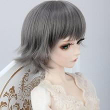1 шт кукла аксессуары серый кукла парик 1/6 1/4 1/3 BJD парик короткий
