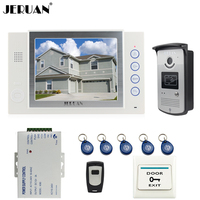 8 Video Door Phone Doorbell Intercom System Home Access Control System RFID Video Recoreding Photo Taking