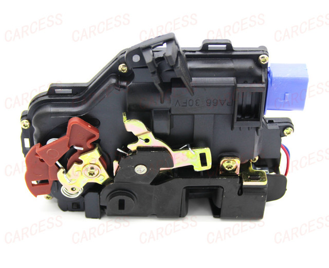 LA-009 7L0839015A REAR LEFT SIDE FOR GOLF 5 V MK5 SEAT LEON TOLEDO SKODA OCTAVIA CENTRAL DOOR LOCK ACTUATOR MECHANISM NEW 7 PINS