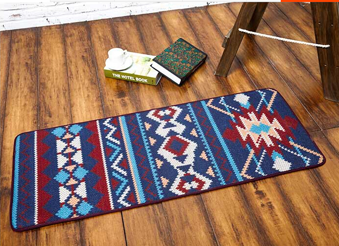 2016 Novelty Iber Door MAT Rug Porch Patio Floor Decor Living Room Carpet Mat Indian Geometric