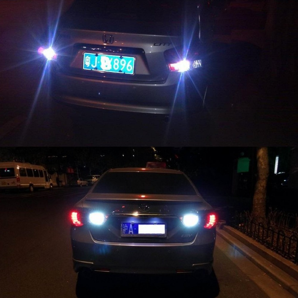 Big Discount!4X No Error1156 BA15S 80W CREE XBD Chips LED Backup Light Xenon White 1500 Lumen Reverse Bulbs ruiandsion 2x75w 900lm 15smd xbd chips red error free 1156 ba15s p21w led backup revers light canbus 12 24vdc