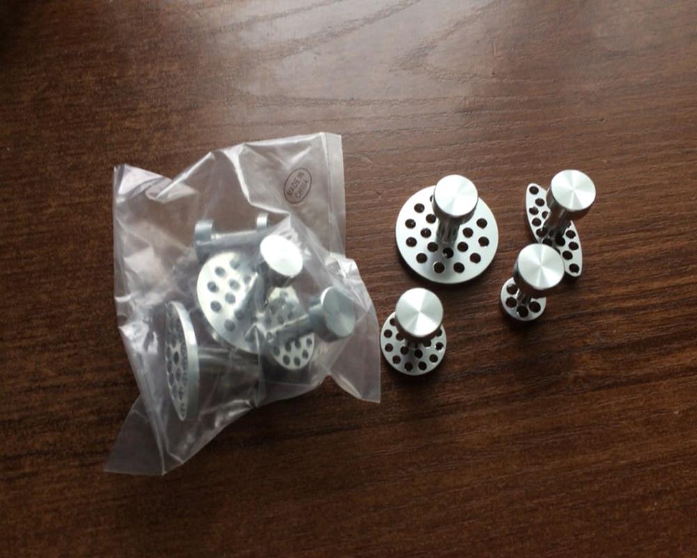 Купить с кэшбэком WHDZ PDR Tool Aluminum Glue Puller Tabs Paintless Dent Repair Tools - 4 Size (4 Pieces)