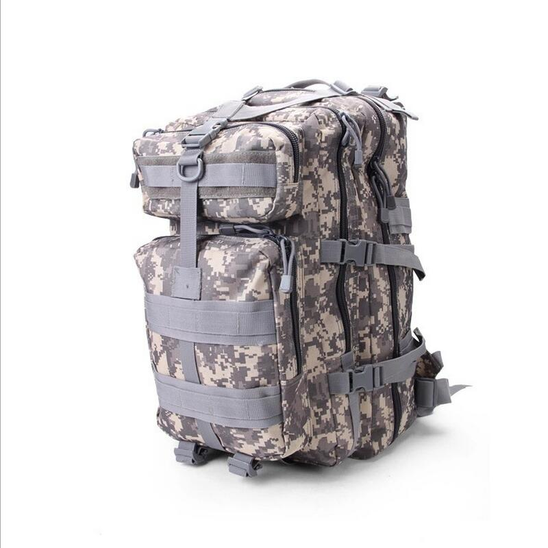 Waterproof nylon military tactics packet bag backpack outdoor men and women camping sport travel bags Marching backpack
