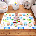 110x158cm 3 Layer Cotton Soft Baby Waterproof Bed Nappy Changing Sheet Mat Cover Urine Pad Mattress Cartoon Pattern SAD-4096