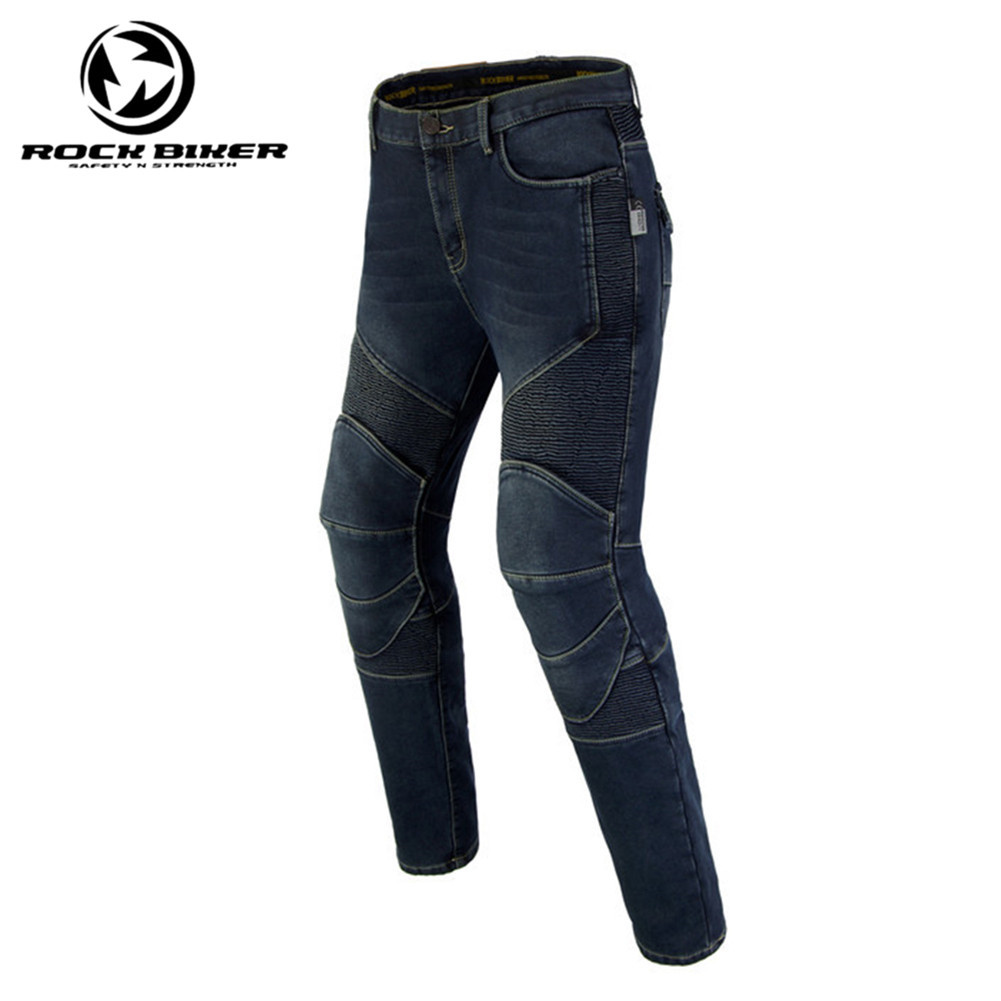 Rock Biker Motorcycle Jeans Protective Motorcycle Jeans Skinny Biker Moto Racing Pants With Detachable CE Protector chairman офисное кресло chairman сн 727 15 21 черный