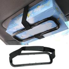 Коробка для салфеток, автомобильный держатель, аксессуары, солнцезащитный козырек, кронштейн для салфеток, универсальное бумажное крепление к спинке сиденья, зажим для хранения