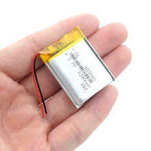 3.7 V 1200 mAh Litowo-polimerowa LiPo akumulator akumulator 103040 dla MP3 MP4 GPS PSP mobilne wideo pad do grania E-book Tablet 10*30*40(China)
