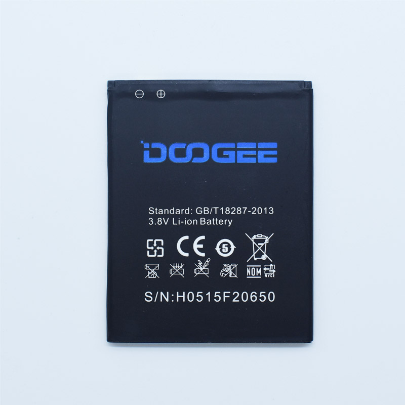 Hekiy For DOOGEE F2 Battery 2500mAh Li-ion Backup Battery for DOOGEE IBIZA F2 Replacement