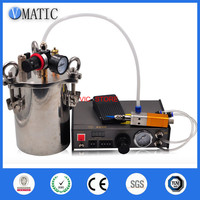 Free Shipping Whole Dispenser Set 1pc Quality Glue Dispensing Machine & Pressure Tank 2L & Dispensing Valve