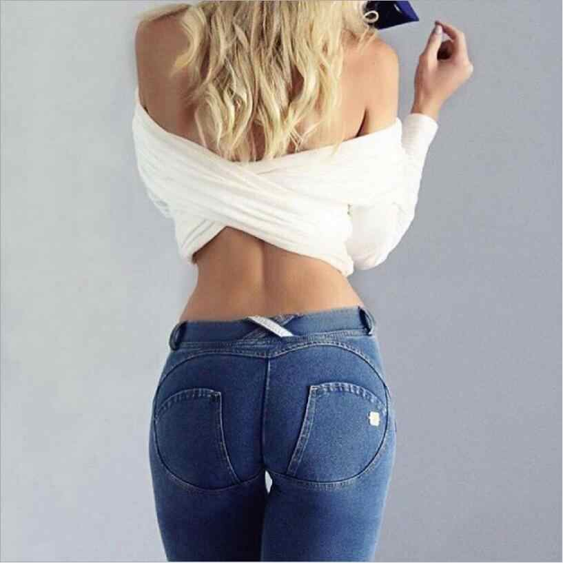 4994c44ee7 ... Women Low Waist Pants Push Up Sexy Hip Solid Trousers For Women Fashion  Elastic Leggings Adventure ...