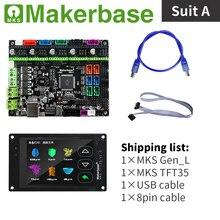 Zestawy MKS Gen_L i MKS TFT35 do drukarek 3d opracowanych przez firmę Makerbase