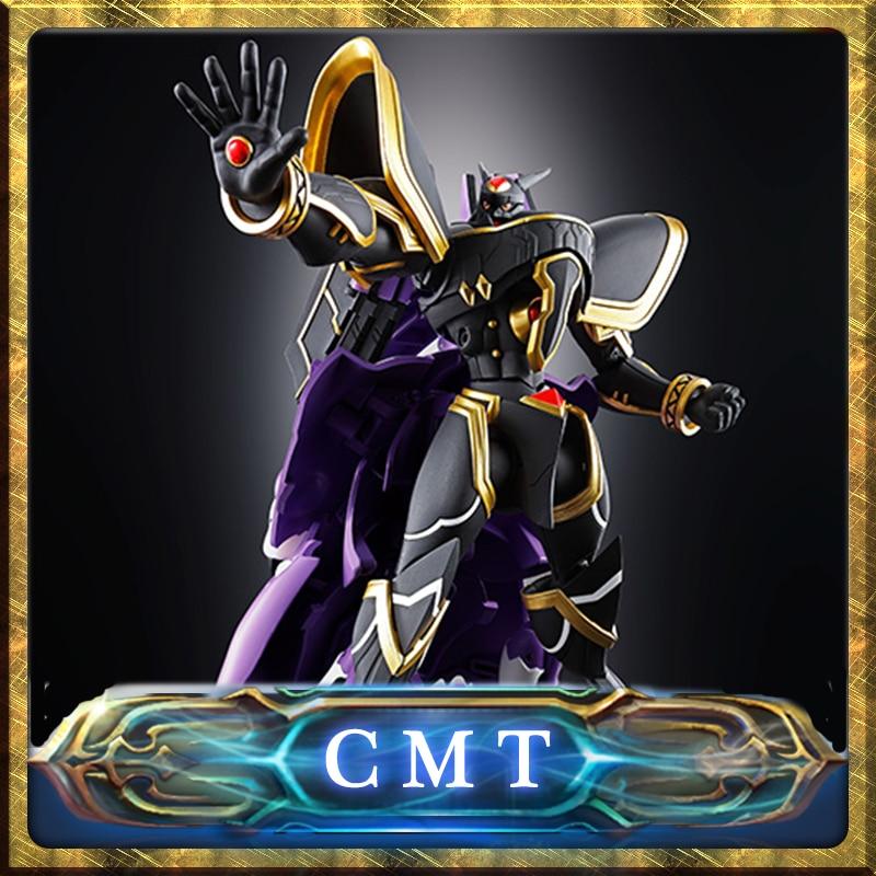 CMT Origianl Bandai Tamashii Nations Digimon Dukemon Digivolving Spirits DVS 05 Alphamon Anime PVC Toys Figure цена и фото
