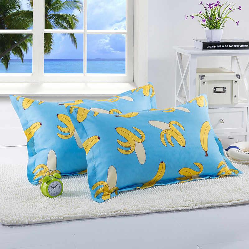 1 шт., 48 см * 74 см, наволочка с рисунком банана для детей, аниме подушка в форме фрукта, чехол для детской спальни, XF340-16
