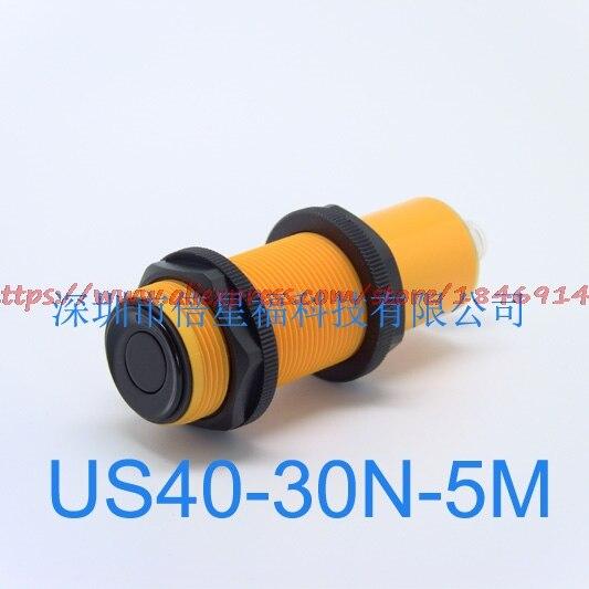 Livraison gratuite à faible coût ultrasons kit US40-30N-5M analogique, NPN, capteur à ultrasons de sortie