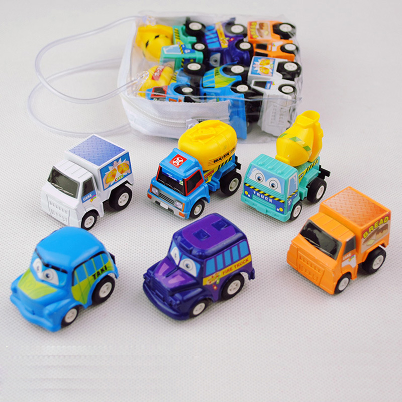 Mini Baby Car Toys Pull Back Children Kids Gifts Car Vehicles Collection Model