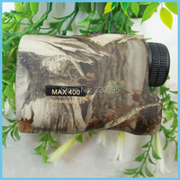 Free Shipping 6x24 Camouflage Hunting Laser Range Finder 400m Hunting Laser Range Speed Finder Hunting Distance