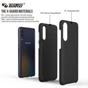 Image 2 - TOIKO X, carcasa protectora de doble capa para Samsung Galaxy A10, A20, A30, A50, A70, A80, funda trasera a prueba de golpes, carcasa híbrida de TPU para parachoques
