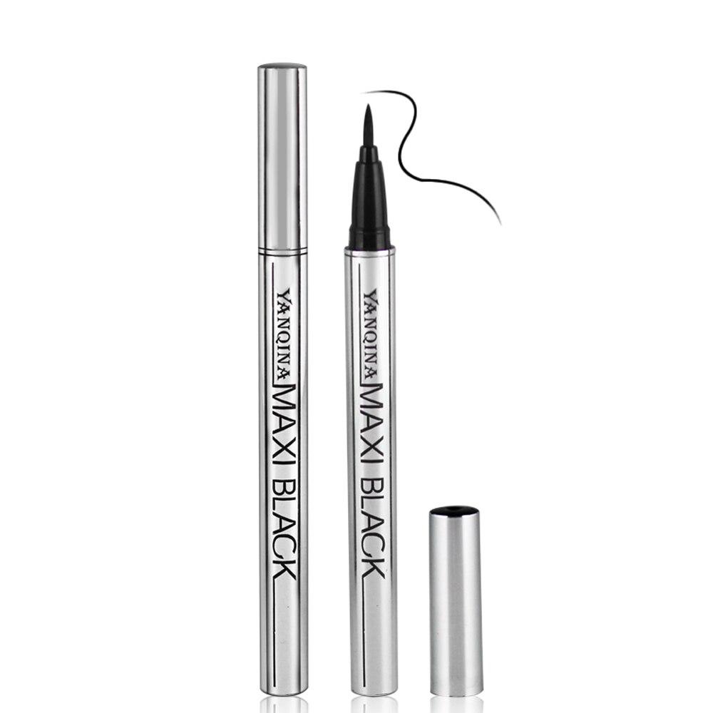 1 PC Gros Extreme Noir Étanche Maquillage Cosmétique Eyeliner Crayon Stylo Belle Utilisation Facile Outils De Mode de Femmes
