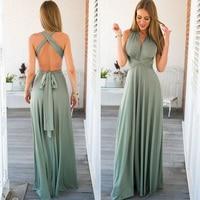 Длинное платье женское бохо 2
