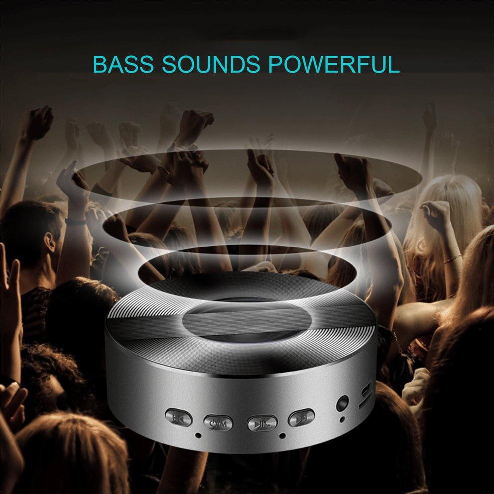 все цены на 5pcs Portable Bluetooth Speaker Aluminum Alloy Subwoofer Dirtproof Outdoor Speaker Wireless Lithium Battery Music Speaker онлайн