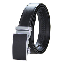 Mens High Quality Genuine Leather Belt-Ratchet Automatic Buckle Men Belt Popular Business Brown Male Belts Luxury Free Shipping belts men 140cm 150cm 160cm 2017new fashion business casual male belt strong men best popular selling goods cool choice hot sale