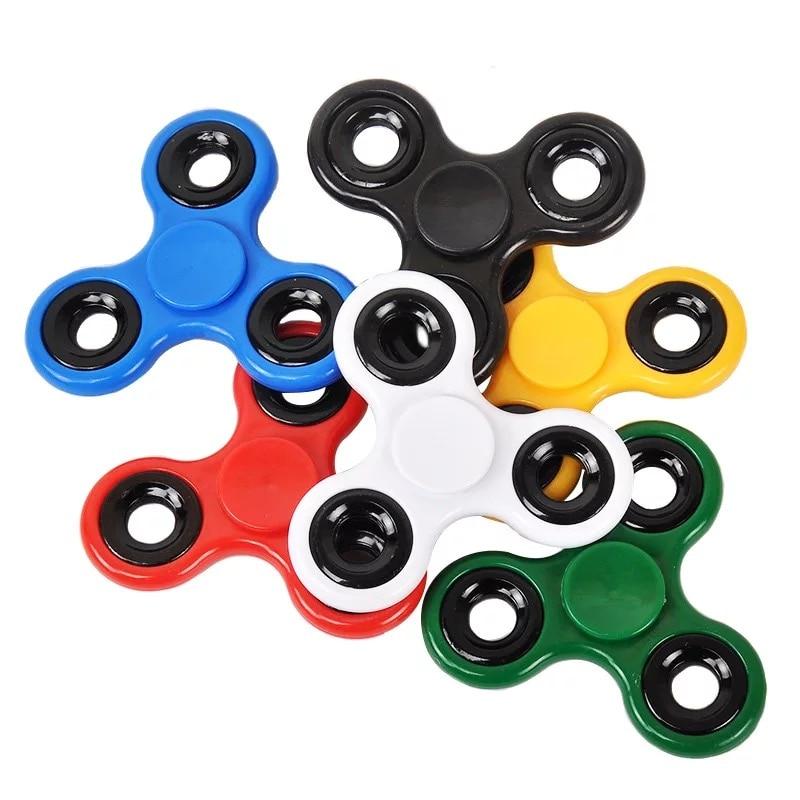 Nuevo creativo Fidget Spinner escritorio Anti estrés dedo camuflaje Spin Spinning Top EDC sensorial juguete regalo para chico