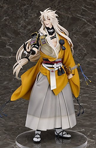 Nouveau Nitro + jeu chaud Touken Ranbu en ligne Shokitsunemaru renard balle Kimono avec épée Cool 23cm figurine