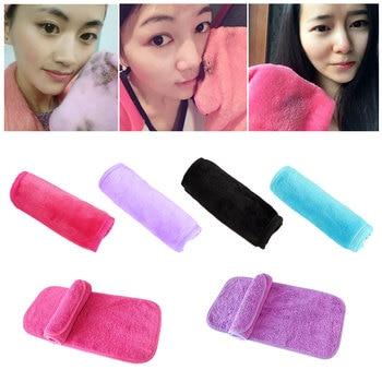 1 PCS 40 * 17CM Microfiber Makeup Remover Reusable Facial Cloth Make Up Eraser Towel Remover Cleaning Wipes Cloth