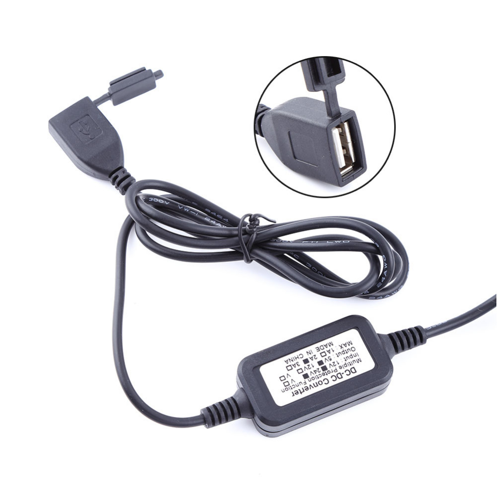 waterproof tomada moto usb charger dc 12v vers 5v adaptateur alimentation pr phone gps power. Black Bedroom Furniture Sets. Home Design Ideas